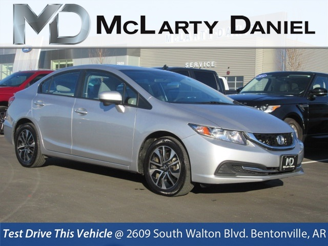 Pre Owned 2014 Honda Civic Ex 4d Sedan In Bentonville Ee050323