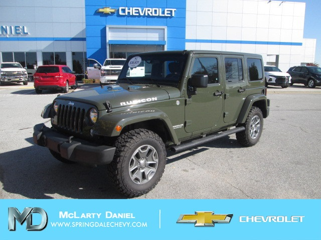 2015 Jeep Wrangler Unlimited Rubicon >> Pre Owned 2015 Jeep Wrangler Unlimited Rubicon 4wd