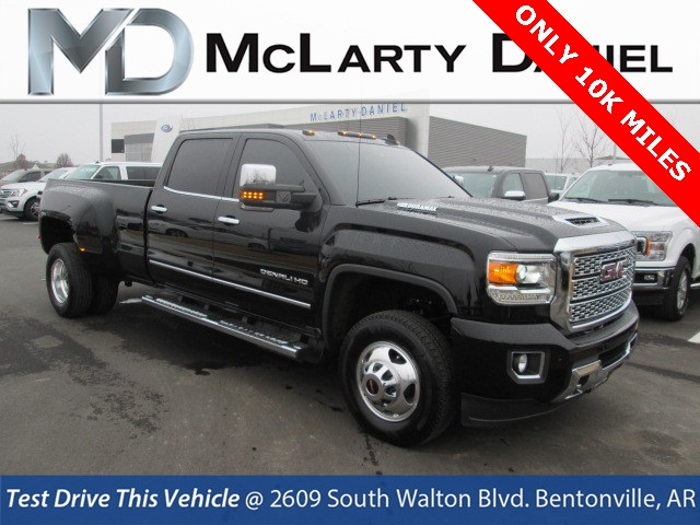Pre Owned 2018 Gmc Sierra 3500hd Denali 4d Crew Cab In Bentonville