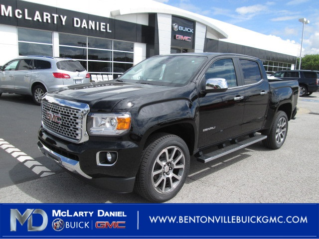 New 2019 Gmc Canyon Denali 4d Crew Cab In Bentonville K1126301