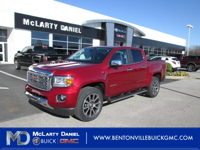 New 2019 Gmc Canyon Denali 4d Crew Cab In Bentonville K1201453