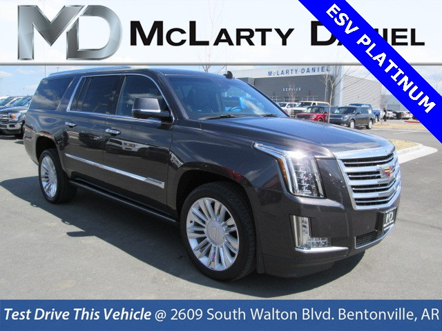 Pre Owned 2016 Cadillac Escalade Esv Platinum Edition