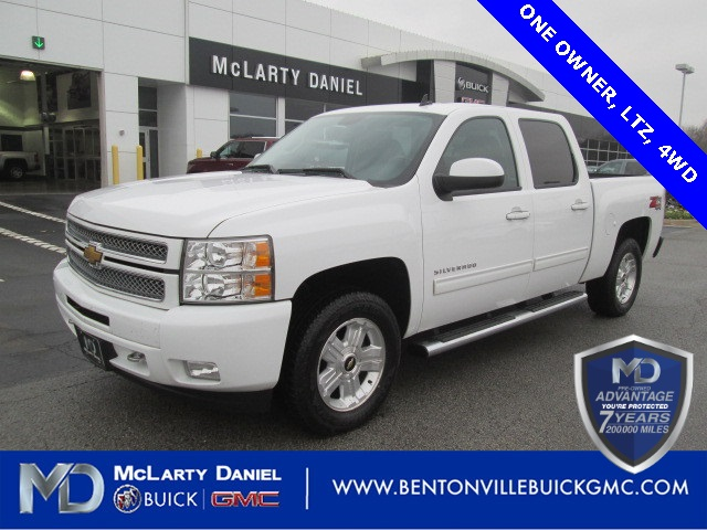 Pre Owned 2013 Chevrolet Silverado 1500 Ltz 4d Crew Cab In