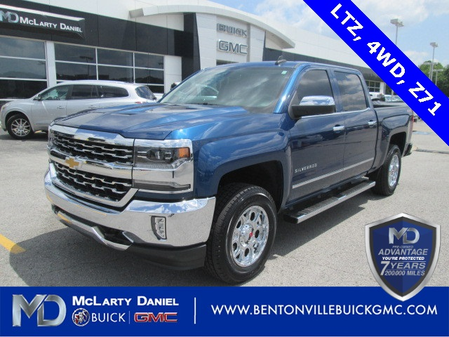 Certified Pre Owned 2016 Chevrolet Silverado 1500 Ltz 4d Crew Cab In