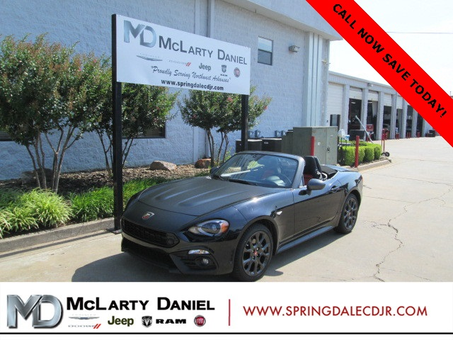 Fiat 124 Spider Abarth >> New 2018 Fiat 124 Spider Abarth With Navigation