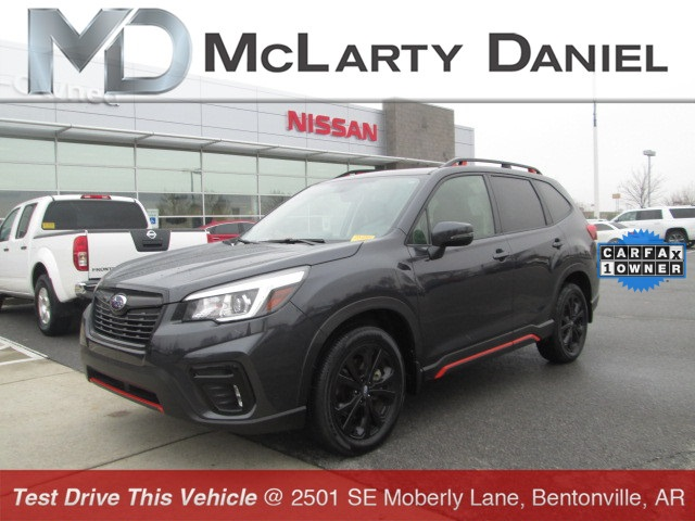 Pre Owned 2019 Subaru Forester Sport 4d Sport Utility In Bentonville